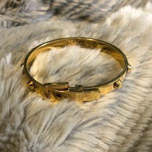 Michael Kors gold studded bracelet